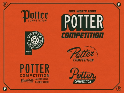 Potter Competition design fun branding type typography matt thompson graveyard