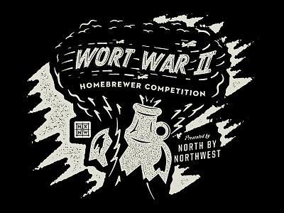 Wort War II texture nxnw lettering work typography type matt thompson