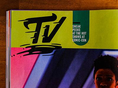 Entertainment Weekly! design script fun logo lettering illustration type typography matt thompson