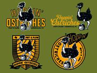 Hoppin' Ostriches