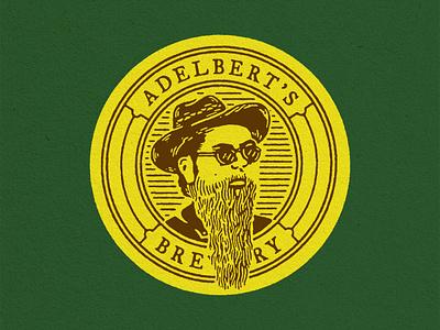 Adelbert's — Tres Hombres Del beer packaging branding design logo illustration matt thompson