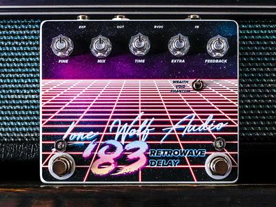 Lone Wolf Audio '83 Retrowave Delay