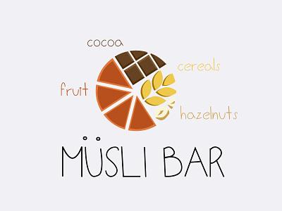 Product logo | Musli Bar bar musli brand product logo