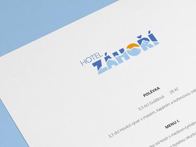 Hotel logo | Winter winter identity hotel logo