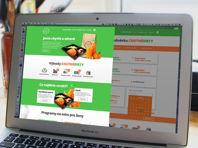 Diet website eat orange green website logo diet web