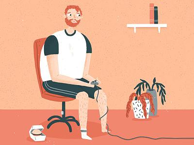 Addicted characterdesign digitalillustration procreate illustration