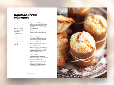 Cakes Layout dtp grid layout typography indesign print design