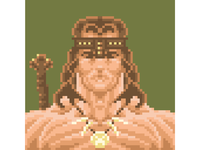 ❧ Pixel Arnold – Conan