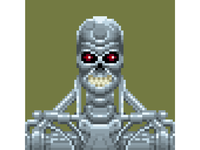 ❧ Pixel Arnold – T800