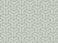 ❧ Axonometric Pattern Study