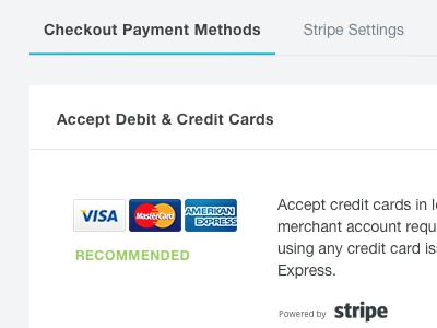 Accept Debit & Credit cards