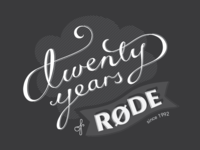 Twenty years of Rode