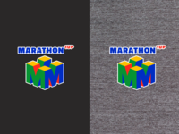1 Up Marathon Logo Tee