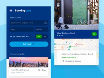 Booking.com Visual Design