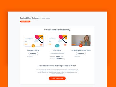 Platform design for user researchers poppins red copy platform visual design ui