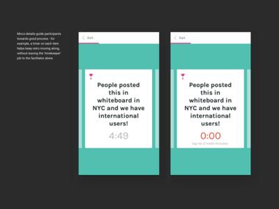 Postfacto, the retrospective app