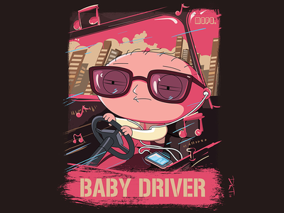 Baby Driver mash up baby driver baby fun parody movie