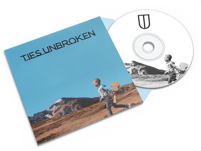 Ties Unbroken Logo and Merch Design shirt tote bag bandmerch merch band indie icon design logo branding visual vector design