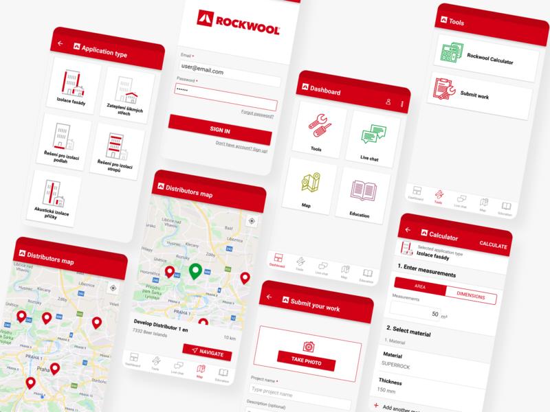 ROCKWOOL App Design