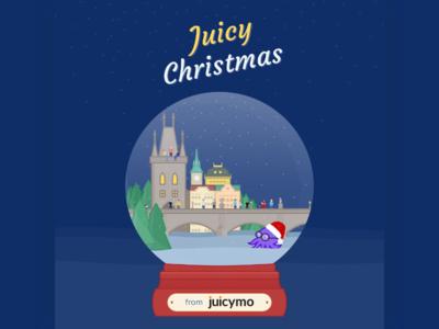 Christmas Visual for Juicymo visual christmas illustration vector design