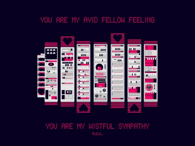 Wistful Sympathy computer history poetry poem love baby manchester university retrofuturism retro computers old computers