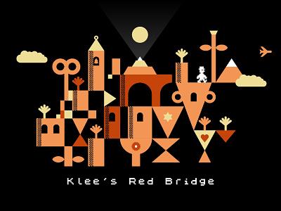 Klee's Red Bridge 1980s 80s zx spectrum sinclair paul klee manic miner jet set willy retro video games retro computers