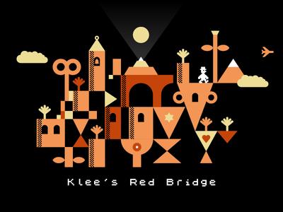 Klee's Red Bridge