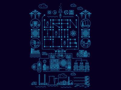 Uranium Club history retrofuturism energy power uranium radioactivity radioactive radiation nuclear atompunk atomic atom