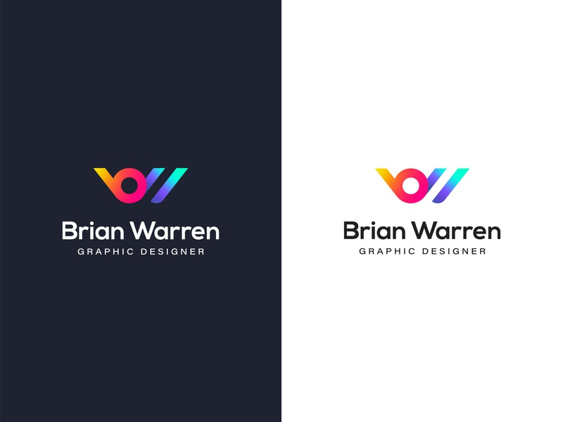 Personal Brand critique design colorful gradient brand personal branding wordmark icon logo branding