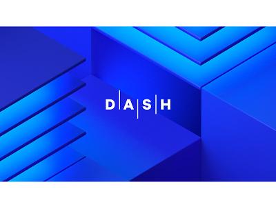 DASH 2021 Announcement conference design design branding adobedimension 3d