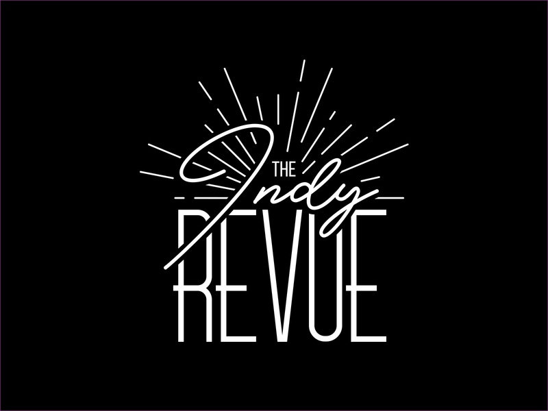 The Indy Revue indyrevue localindy logodesign