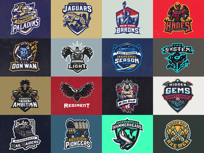 Mascot Logo Collection 2020 mascot logo mascot design 2020 trend logo esportslogo vector mascot illustration esports design branding