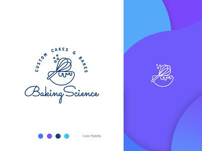 Bakery Logo cooking baking baker bakery logo cake shop cake logo design identity design identity branding design branding cook design logotype logo