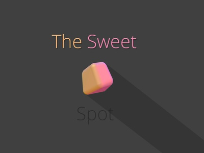 The Sweet Spot blender photoshop 3d chewy candy lighting