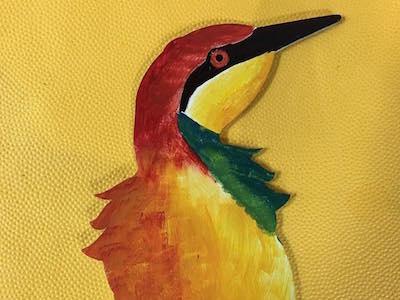 Fantasy Bird original lacquer fantasy bird delrin