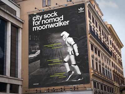 Adidas NMD Print Campaign advertising design campaign print adidas