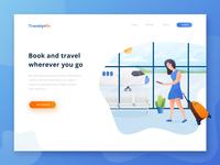 Travelynfo - Header Illustration Exploration