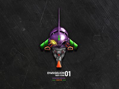 EVA Test-Type 01 Design ui illustration eva icon mingren
