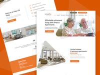 Web Design Proposal for Amarco Apartments