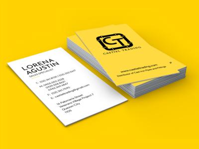 Castiel Trading Business Card