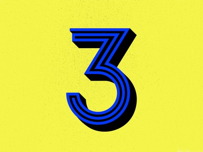 36 Days of Type: 3