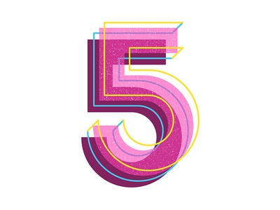 36 Days of Type: 5