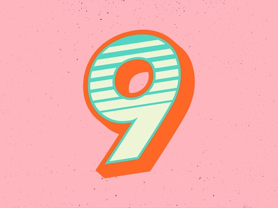 36 Days of Type: 9