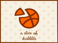A slice Of dribbble