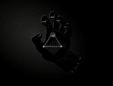 Darth Vaders Hand empire strikes back return of the jedi hand vector graphic  design illustraion darthvader starwars