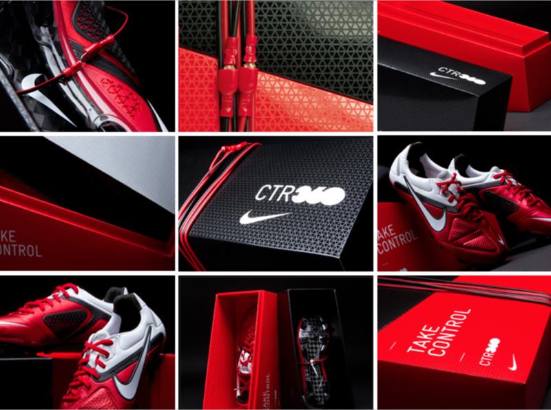 Nike CTR 360 - Packaging shoebox packaging soccer football nike package design graphic  design
