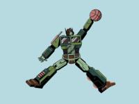 Air Prime - Atmos autobot robot basketball atmos sneakers transformers optimus prime vector illustration graphic  design