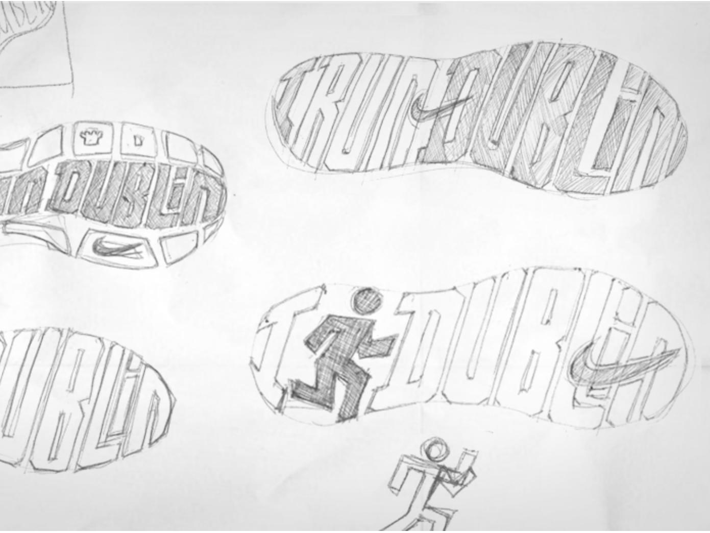 revendeur 4bfde faa0e Nike - I Run Dublin Logo Sketches by Allan Kwok on Dribbble