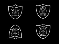 Darth Vader x Raiders Logo - Exploration