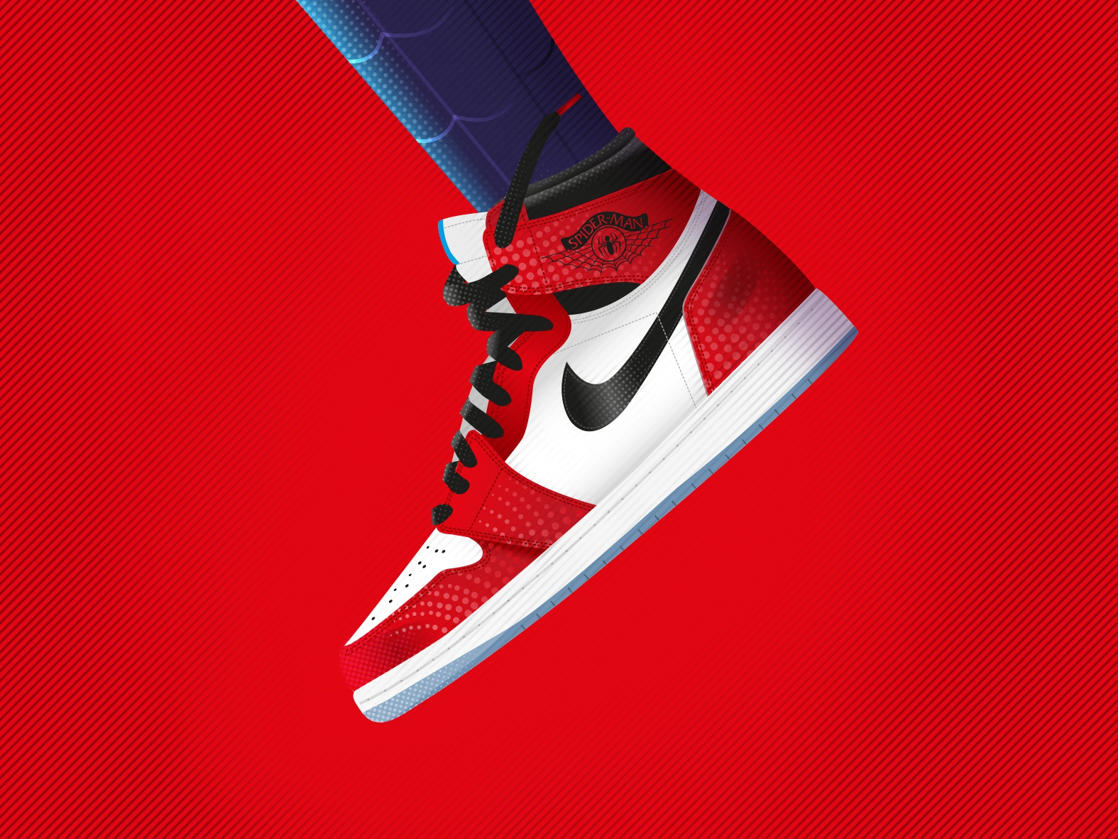 check out b6b8a 3a006 Air Jordan 1 - Spiderman by Allan Kwok on Dribbble